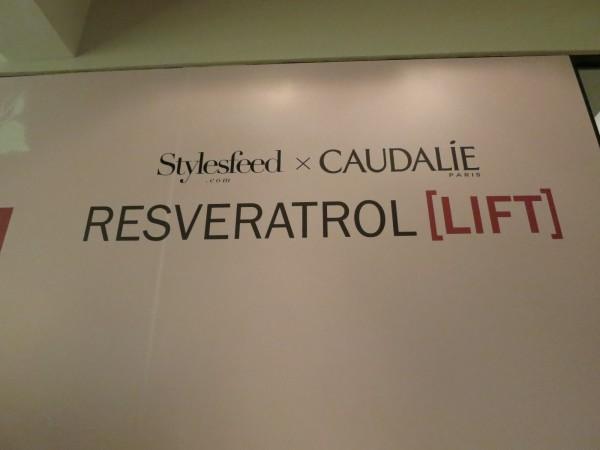 <Event> Stylesfeed X Caudalie Resveratrol [LIFT]白藜蘆醇 新系列