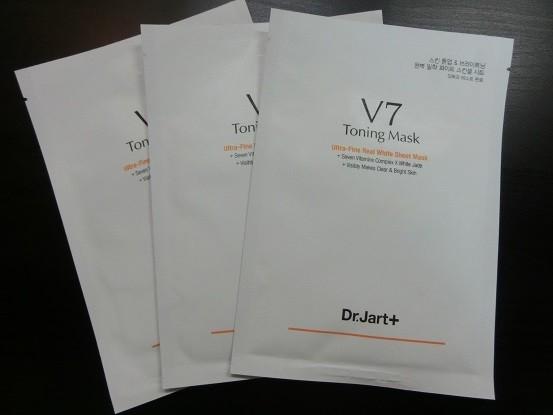 急救暗黃缺水肌膚 - Dr.Jart + V7維他命透白面膜 V7 Toning Mask 面膜是急救缺水暗黃肌膚的好物!   Dr.Jart + V7維他命透白面膜 V7 Toning Mask (...